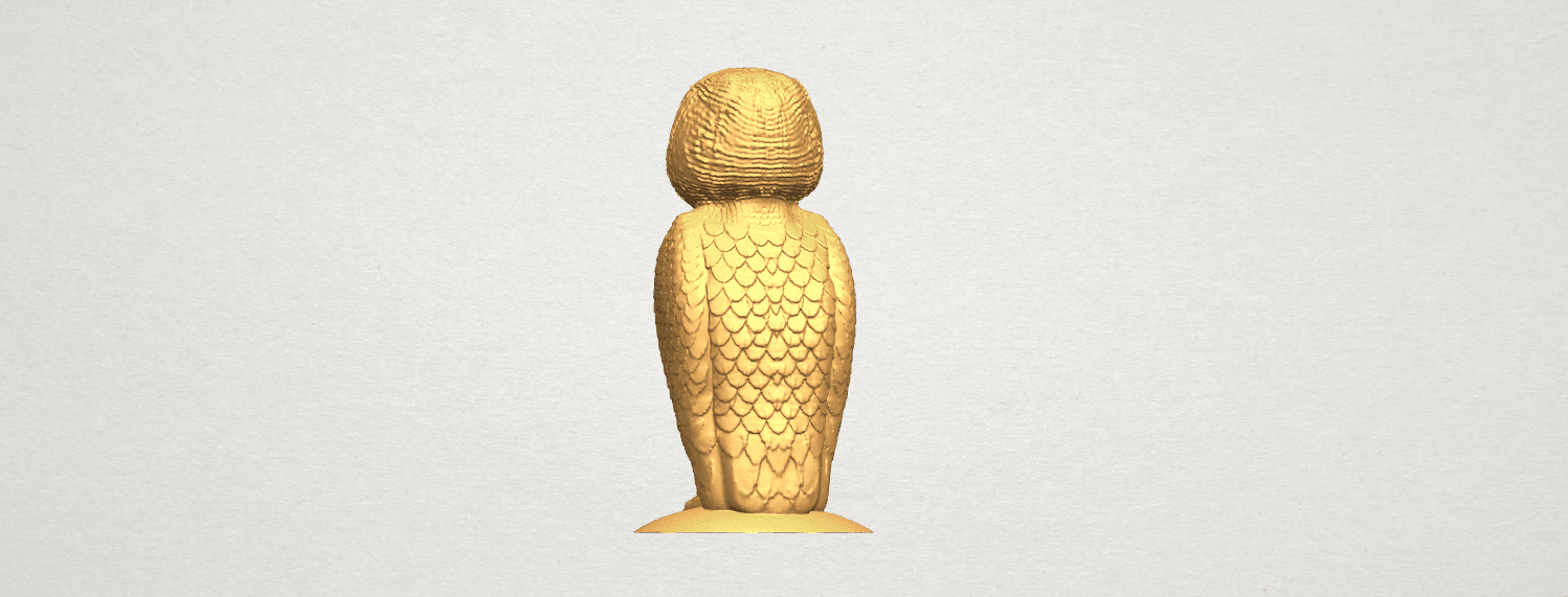 TDA0594 Owl 03 A05.png Download free STL file Owl 03 • 3D printing object, GeorgesNikkei