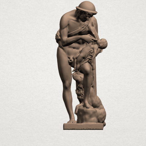 Father and Son (iii) A01.png Download free STL file Father and Son 3 • 3D print model, GeorgesNikkei