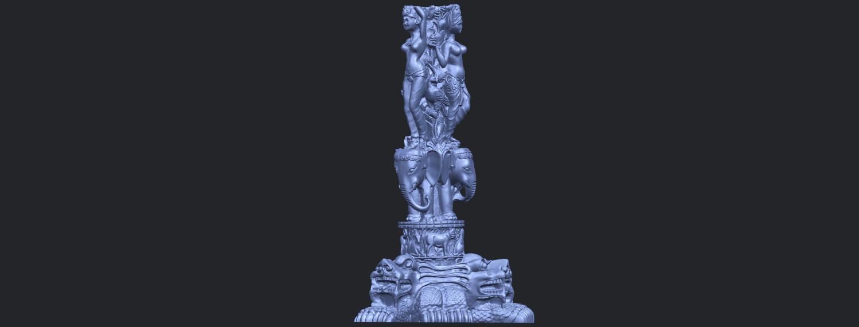 09_Thai_Elephant_Tower_80mm_-_A01B06.png Télécharger fichier STL gratuit Tour de l'éléphant thaïlandais • Modèle pour impression 3D, GeorgesNikkei