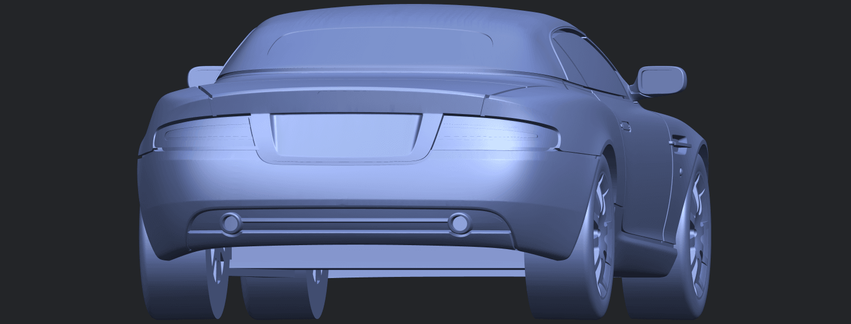 TDB007_1-50 ALLA04.png Download free STL file Aston Martin DB9 Cabriolet • 3D print model, GeorgesNikkei