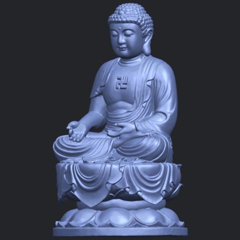 01_TDA0174_Gautama_Buddha_(ii)__88mmB02.png Download free STL file Gautama Buddha 02 • 3D print template, GeorgesNikkei