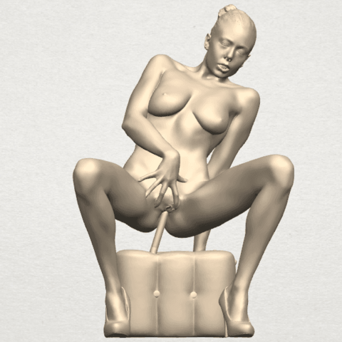 TDA0285 Naked Girl B02 03.png Download free STL file  Naked Girl B02 • 3D printer model, GeorgesNikkei