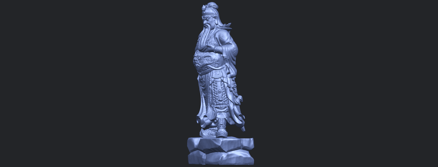 03_TDA0330_Guan_Gong_iiiB03.png Download free STL file Guan Gong 03 • 3D printable template, GeorgesNikkei