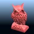 Télécharger objet 3D gratuit Chouette Voronoi, GeorgesNikkei