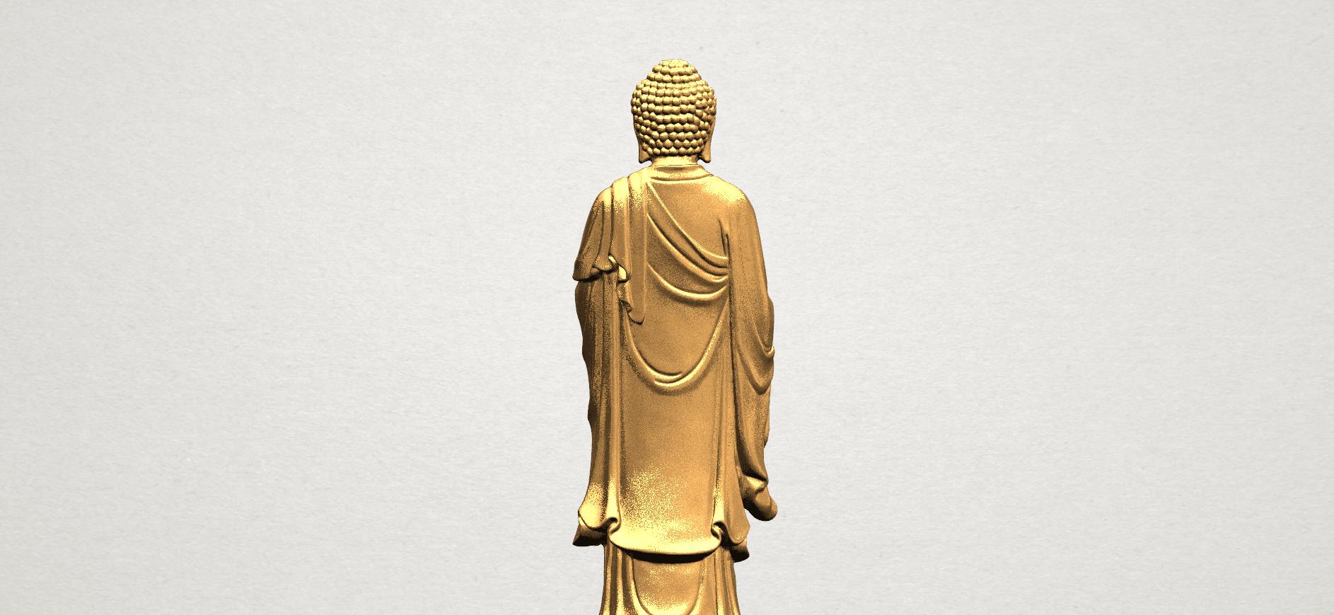 Gautama Buddha (stand)-80mm-B03.png Télécharger fichier STL gratuit Gautama Bouddha - Debout 01 • Plan pour impression 3D, GeorgesNikkei