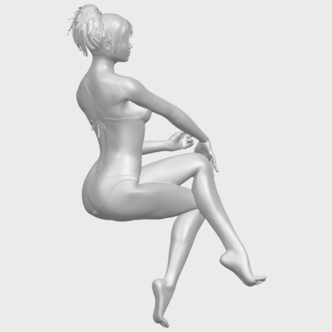 20_TDA0664_Naked_Girl_H02A01.png Download free STL file Naked Girl H02 • 3D print object, GeorgesNikkei