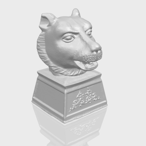 20_TDA0510_Chinese_Horoscope_of_Tiger_02A00-1.png Download free STL file Chinese Horoscope of Tiger 02 • 3D print object, GeorgesNikkei