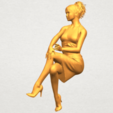 A06.png Download free STL file Naked Girl H04 • 3D printing object, GeorgesNikkei