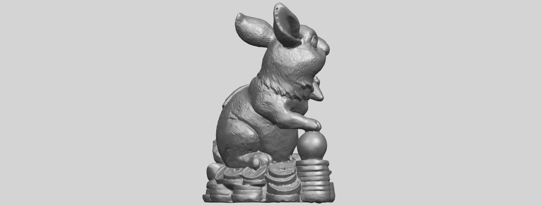 07_TDA0559_Rabbit_02A08.png Télécharger fichier STL gratuit Lapin 02 • Design imprimable en 3D, GeorgesNikkei