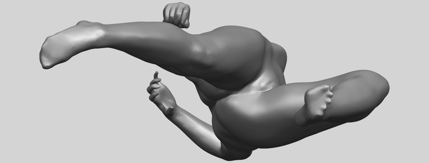 06_TDA0279_Naked_Girl_A06A01.png Download free STL file Naked Girl A06 • 3D printing template, GeorgesNikkei