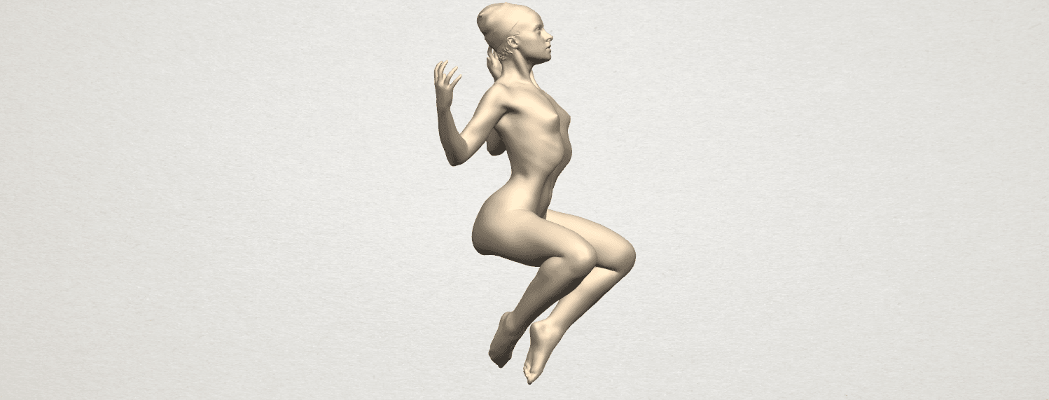 TDA0282 Naked Girl A09 05.png Download free STL file Naked Girl A09 • 3D print object, GeorgesNikkei