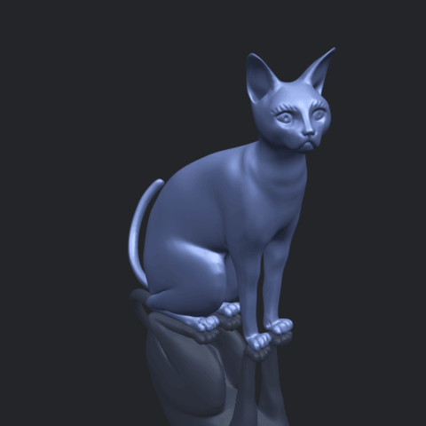 02_TDA0576_Cat_01B00-1.png Download free STL file Cat 01 • Design to 3D print, GeorgesNikkei