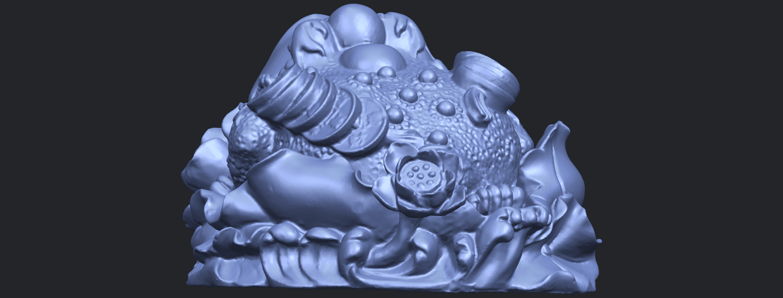 21_TDA0336_The_Golden_ToadB03.png Download free STL file The Golden Toad • 3D printer design, GeorgesNikkei