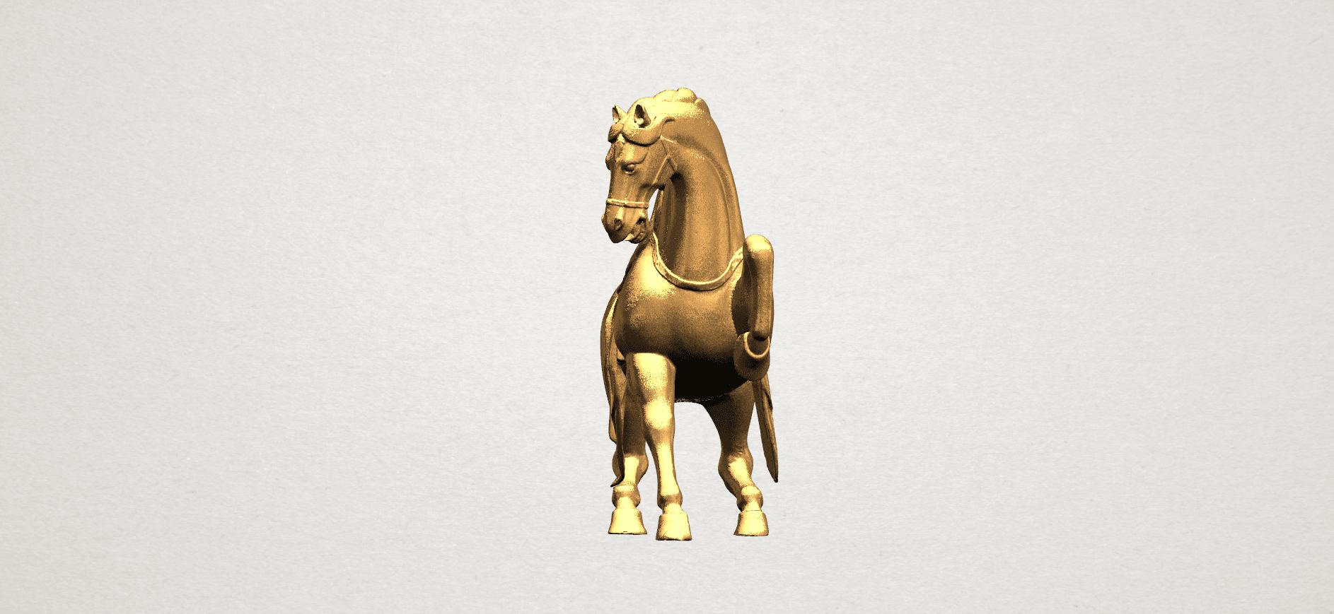 Horse III - B03.png Télécharger fichier STL gratuit Cheval 03 • Design imprimable en 3D, GeorgesNikkei