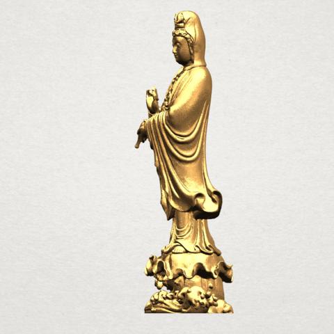 Avalokitesvara Buddha - Standing (v) A03.png Download free STL file Avalokitesvara Buddha - Standing 05 • 3D printer template, GeorgesNikkei