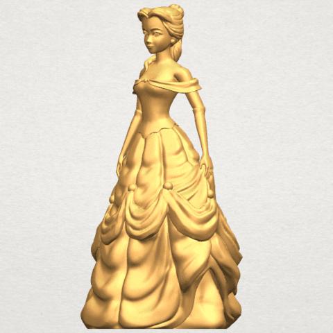 TDA0578 Princess Belle A02.png Télécharger fichier STL gratuit Princesse Belle • Modèle pour impression 3D, GeorgesNikkei