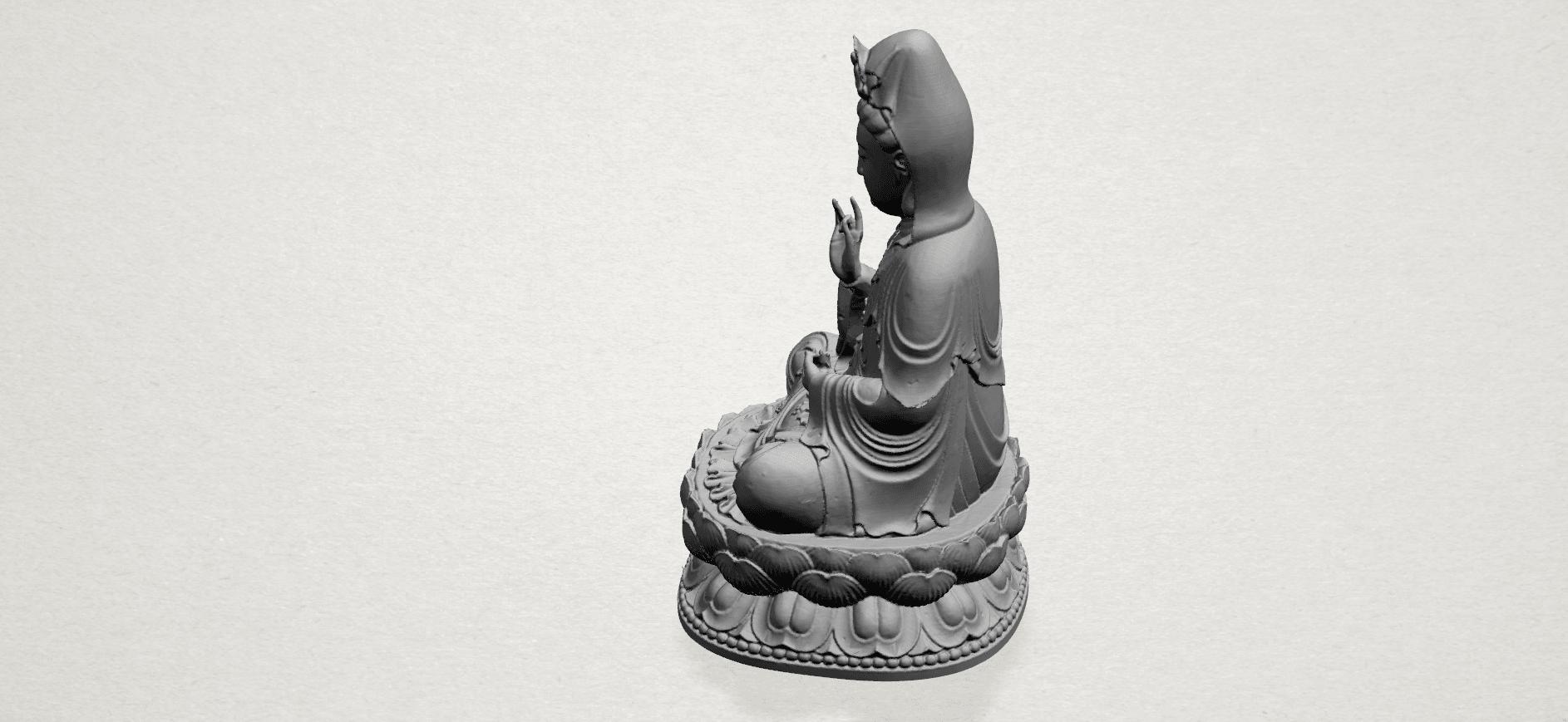 Bodhisattva Buddha - A05.png Download free STL file Avalokitesvara Bodhisattva 01 • 3D print object, GeorgesNikkei