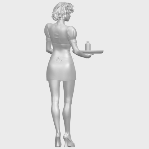07_TDA0475_Beautiful_Girl_09_WaitressA08.png Download free STL file Beautiful Girl 09 Waitress • 3D printable object, GeorgesNikkei