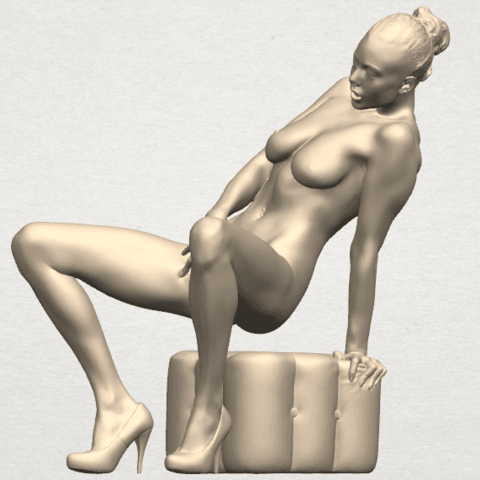 TDA0285 Naked Girl B02 05.png Download free STL file  Naked Girl B02 • 3D printer model, GeorgesNikkei