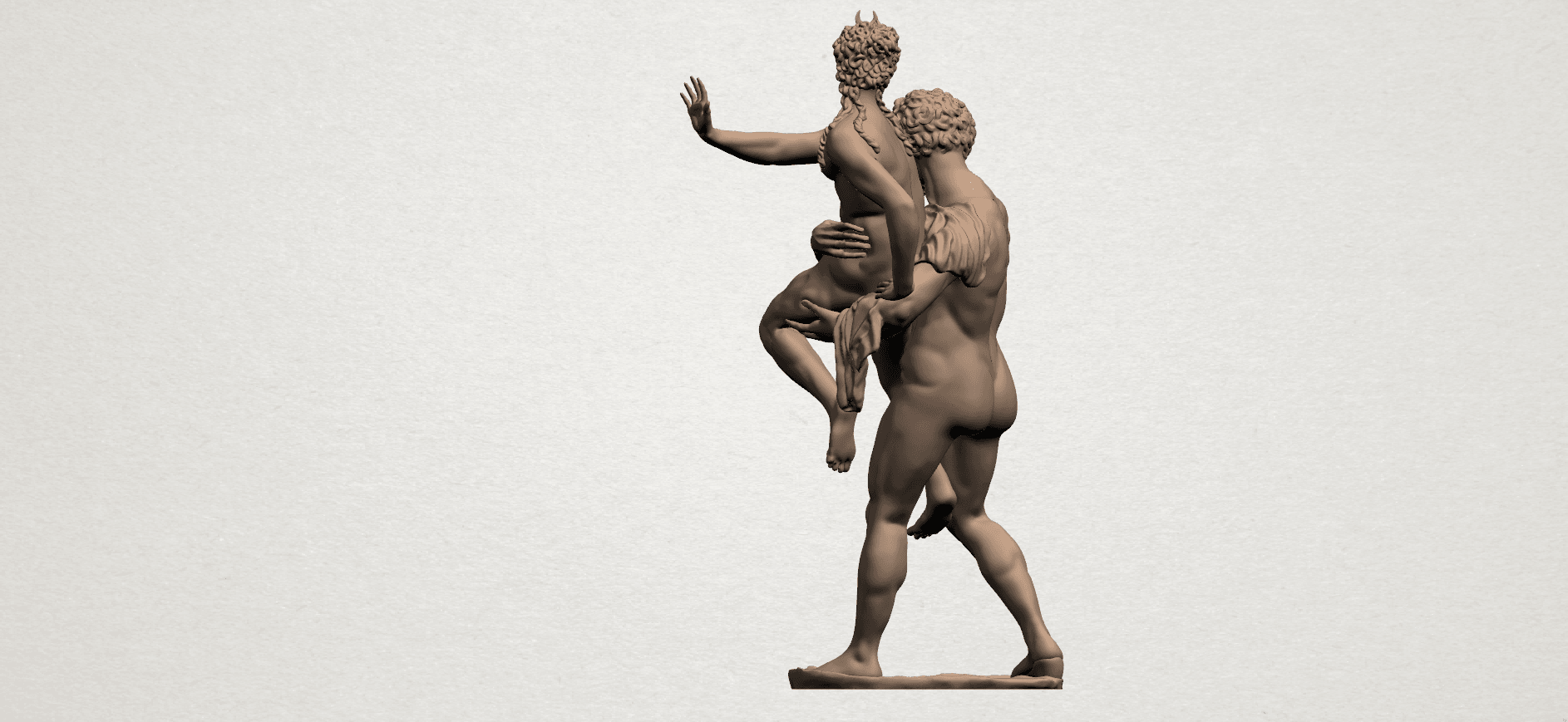 Naked Couple (iv) A03.png Download free STL file Naked Couple 04 • 3D printable model, GeorgesNikkei