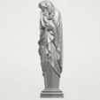 TDA0259 Sculpture - Winter A02.png Download free STL file Sculpture - Winter 01 • 3D printable object, GeorgesNikkei