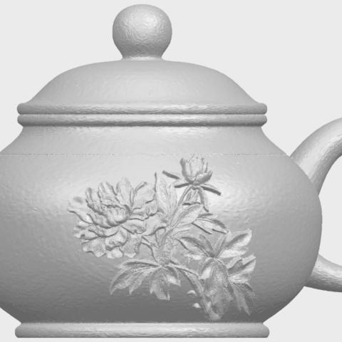 02_TDA0324_Tea_Pot_iiiA01.png Download free STL file Tea Pot 03 • 3D printing template, GeorgesNikkei