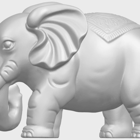 Elephant_03_-122mmA04.png Download free STL file Elephant 03 • 3D printable design, GeorgesNikkei