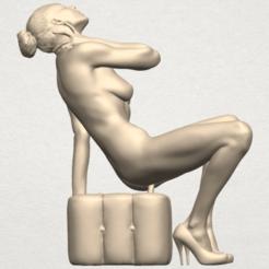 Free 3D printer files Naked Girl B09, GeorgesNikkei