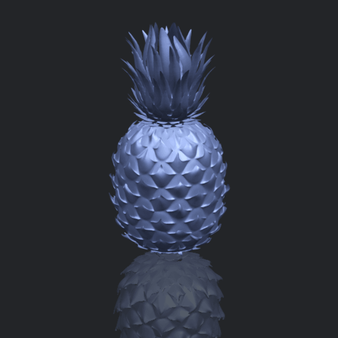 15_TDA0552_PineappleB00-1.png Download free STL file Pineapple • 3D printer design, GeorgesNikkei