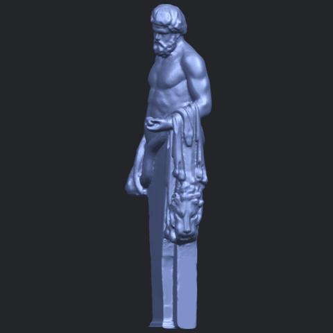 24_TDA0466_Sculpture_of_a_man_02_ex500B03.png Download free STL file Sculpture of a man 03 • 3D print model, GeorgesNikkei