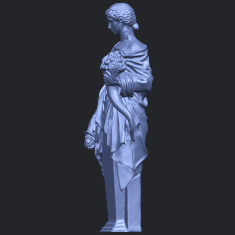 05_TDA0261_Sculpture_of_a_girlB03.png Download free STL file Sculpture of a girl • 3D printable model, GeorgesNikkei