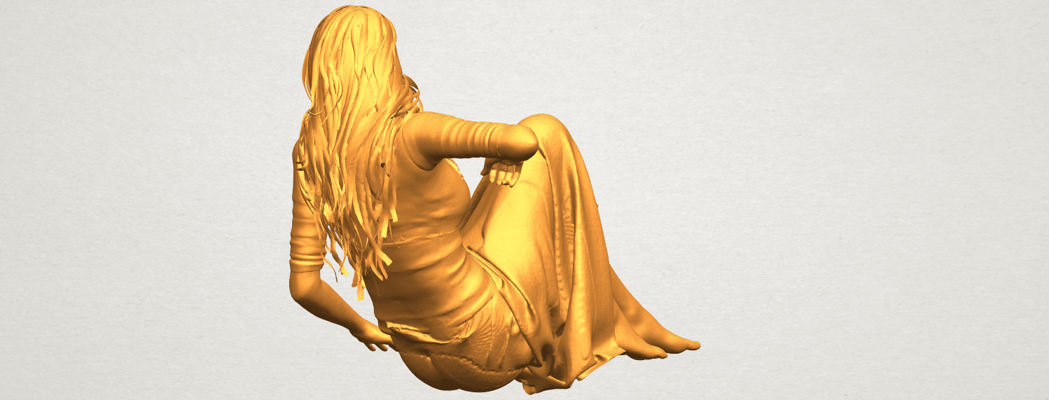 A06.png Download free STL file Naked Girl I03 • 3D printing object, GeorgesNikkei