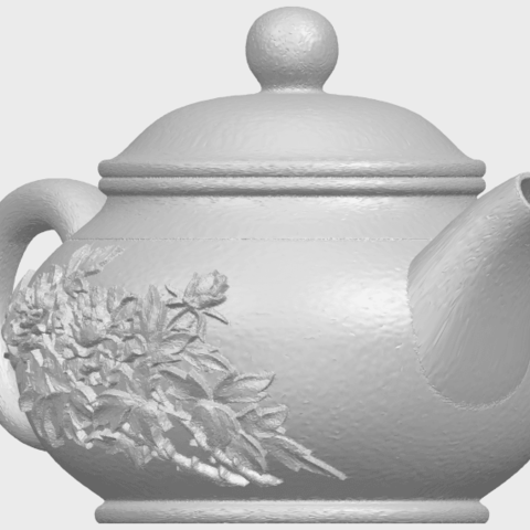 02_TDA0324_Tea_Pot_iiiA08.png Download free STL file Tea Pot 03 • 3D printing template, GeorgesNikkei