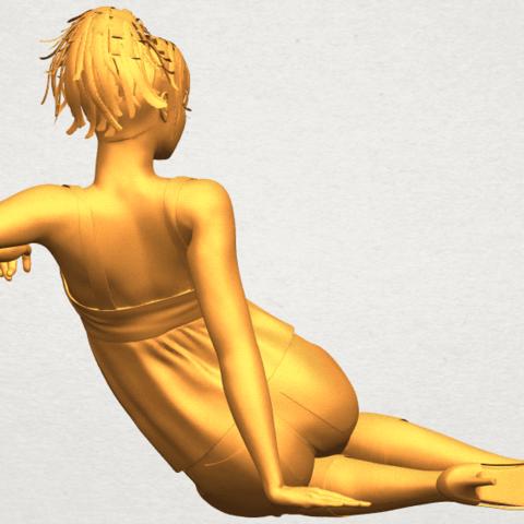 A07.png Télécharger fichier STL gratuit Fille Nue F06 • Modèle pour impression 3D, GeorgesNikkei