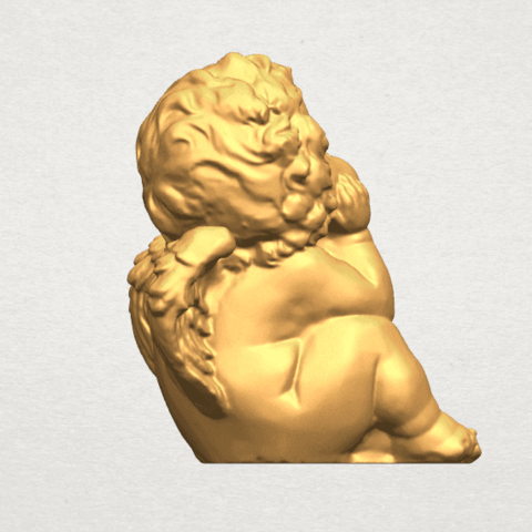 TDA0481 Angel Baby 04 B06.png Download free STL file Angel Baby 04 • 3D printable template, GeorgesNikkei