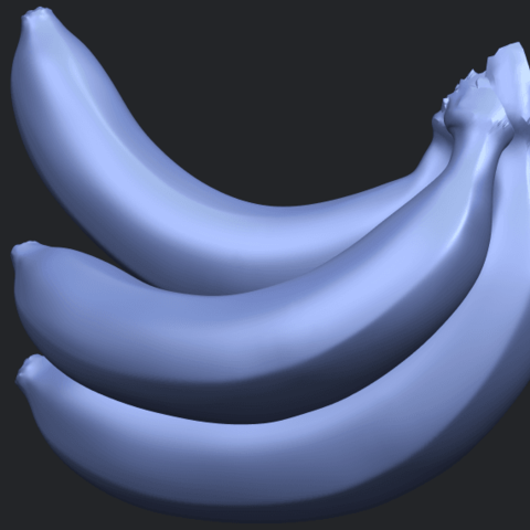 07_TDA0553_BananaB07.png Download free STL file Banana 01 • 3D printer design, GeorgesNikkei