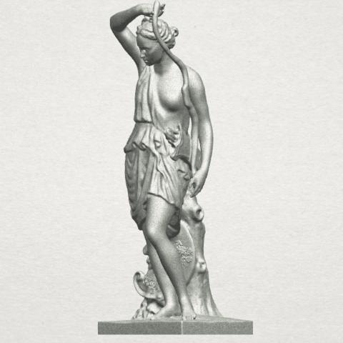 TDA0257 Female Warrior A02.png Download free STL file Female Warrior • 3D print model, GeorgesNikkei