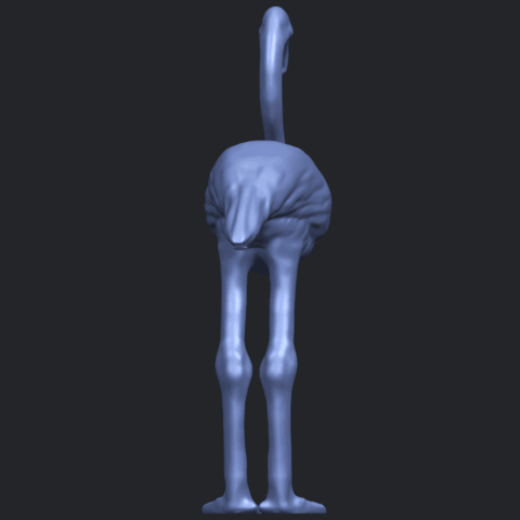 04_TDA0597_Flamingo_01B04.png Download free STL file Flamingo 01 • 3D printing model, GeorgesNikkei