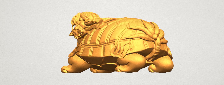 TDA0333 Dragon  Tortoise A02.png Télécharger fichier STL gratuit Tortue dragon • Objet imprimable en 3D, GeorgesNikkei
