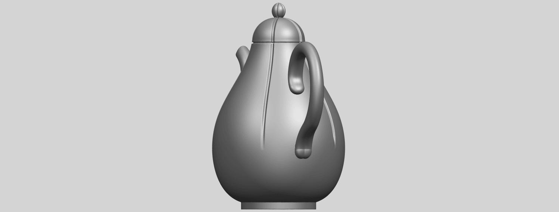 19_TDA0323_Tea_Pot_iiA03.png Download free STL file Tea Pot 02 • 3D printer template, GeorgesNikkei