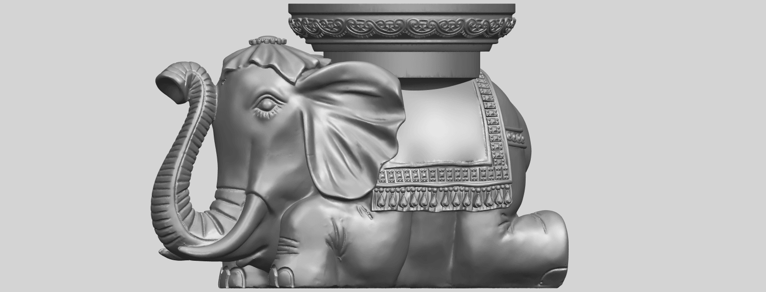 11_TDA0501_Elephant_TableA02.png Download free STL file Elephant Table • 3D printing object, GeorgesNikkei