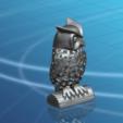 Download free 3D printing models Voronoi Owl, GeorgesNikkei