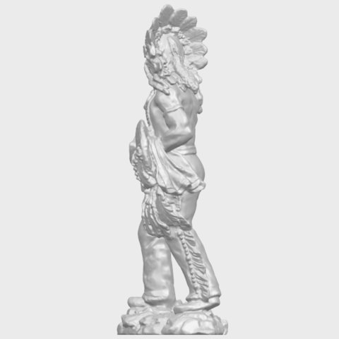 13_TDA0240_Red_IndianA04.png Download free STL file Red Indian • 3D print template, GeorgesNikkei