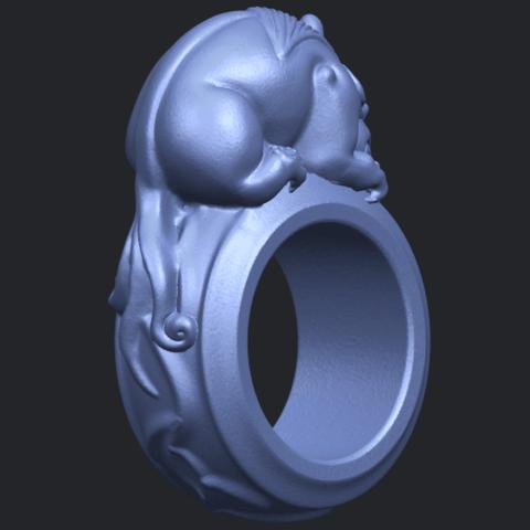 07_TDA0504_Pi_Xiu_RingB05.png Download free STL file Pi Xiu Ring • Object to 3D print, GeorgesNikkei