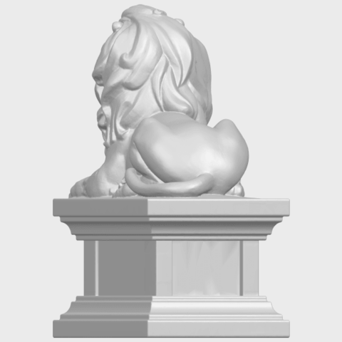 01_TDA0499_Lion_04A06.png Download free STL file Lion 04 • Template to 3D print, GeorgesNikkei
