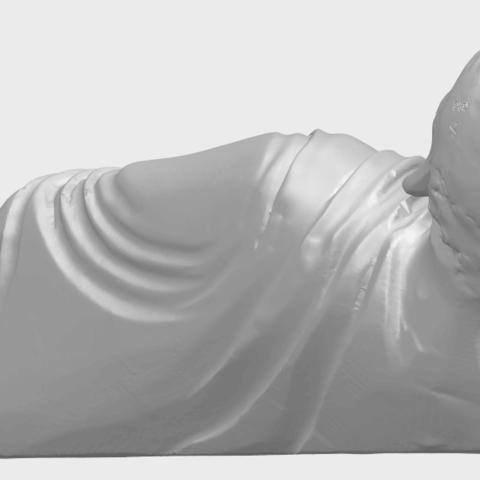 06_TDA0179_Sleeping_Buddha_(i)_88mmA08.png Download free STL file Sleeping Buddha 01 • 3D printable design, GeorgesNikkei