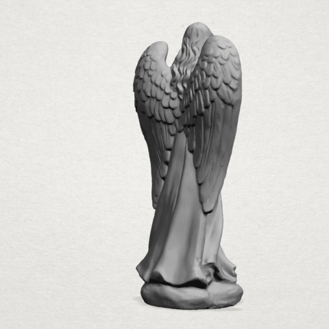 Angel C04.png Download free STL file Angel 01 • 3D printer object, GeorgesNikkei