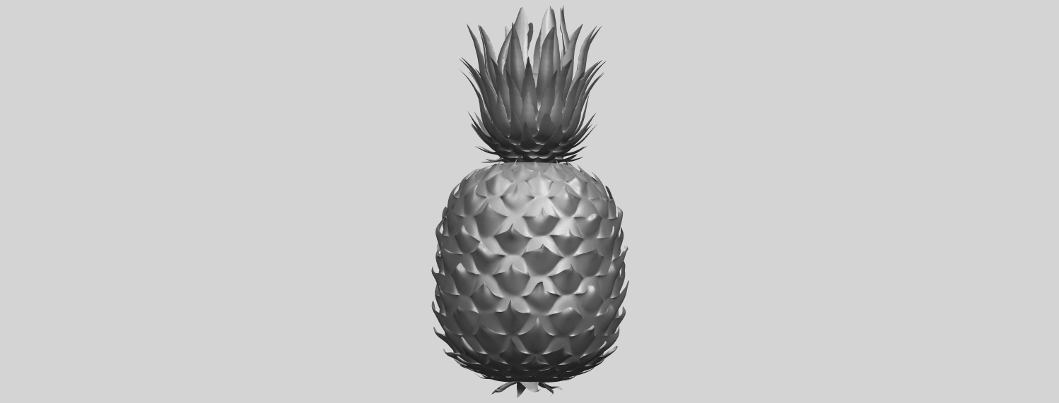 15_TDA0552_PineappleA06.png Download free STL file Pineapple • 3D printer design, GeorgesNikkei
