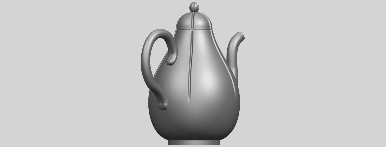 19_TDA0323_Tea_Pot_iiA05.png Download free STL file Tea Pot 02 • 3D printer template, GeorgesNikkei