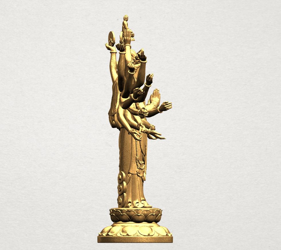 Avalokitesvara Bodhisattva (multi hand) 80mm -B08.png Download free STL file Avalokitesvara Bodhisattva (multi hand) (i) • 3D print object, GeorgesNikkei